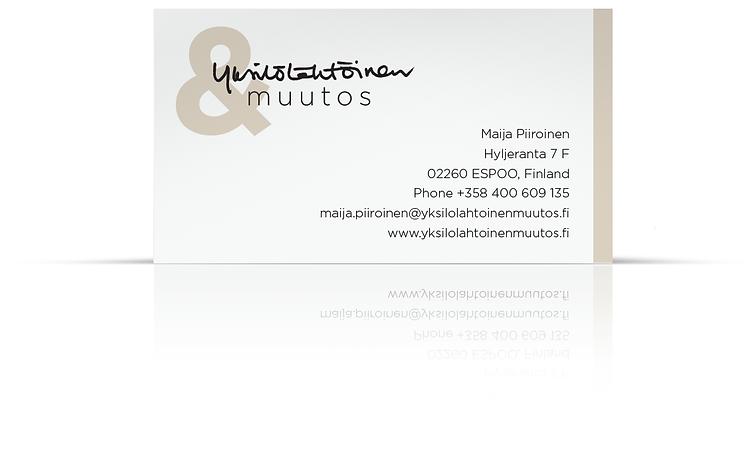 Maija Piiroinen, Puh. 0400-609135. Sähköposti maija.piiroinen@yksilolahtoinemuutos.fi