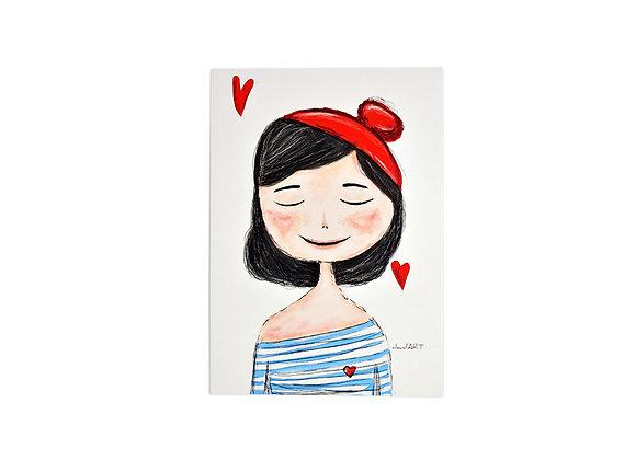 """Postkarte """"Charlott"""""""