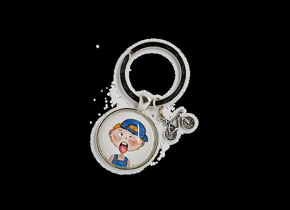 """Schlüsselring mit Anhänger - """"Ben"""""""