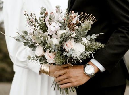 Floral examples before choosing