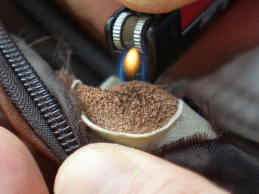 #6. Как отличить натуральную кожу от искусственной с помощью огня?