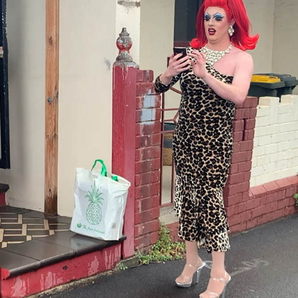 Drag Queen Completing a Delivery.jpg