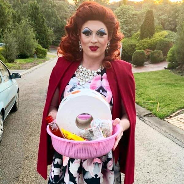 Drag Queen Delivering Gift Basket.jpg