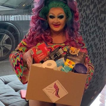 Drag Queen Delivering a Donation.jpg