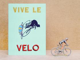 Vive Le Velo Card