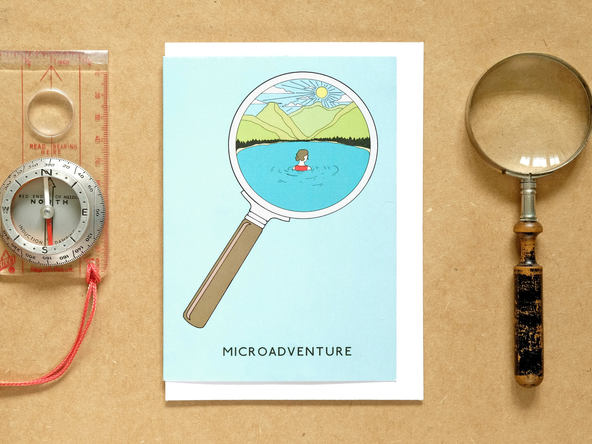 Microadventure Wild Swim Card