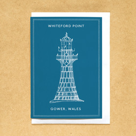 Lighthouses of the UK - Whiteford Point lighthouse