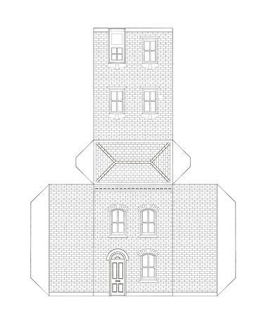 Stay in cut out- city house by Ben Langw
