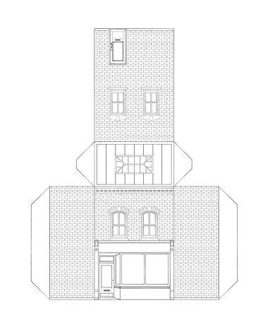Stay in cut out- side door shop by Ben L