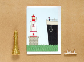 The Lighthouse Keepers Mate Card