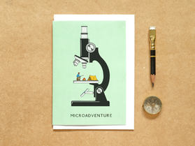 Microadventure Microscope Card