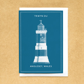 Lighthouses of the UK - Trwyn Du lighthouse