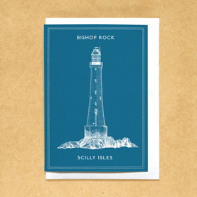 Lighthouses of the UK - Bishop Rock lighthouse