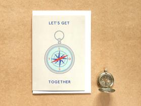 Lets Get Lost Together Card