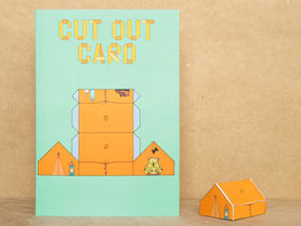 Cut Out Tent Card