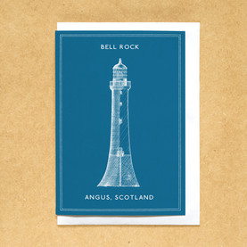 Lighthouses of the UK - Bell Rock lighthouse.
