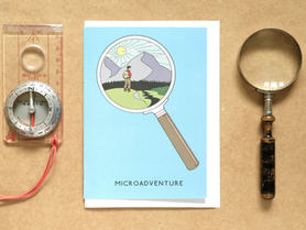 Microadventure Mountains Card