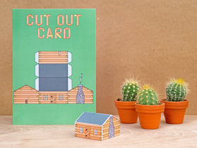 Cut Out Shed Card