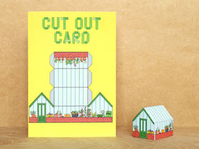 Cut Out Greenhouse Card