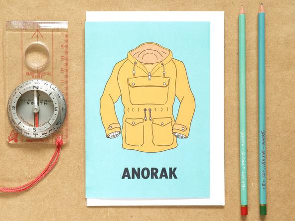 Anorack Card