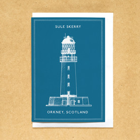 Lighthouses of the UK - Sule Skerry lighthouse
