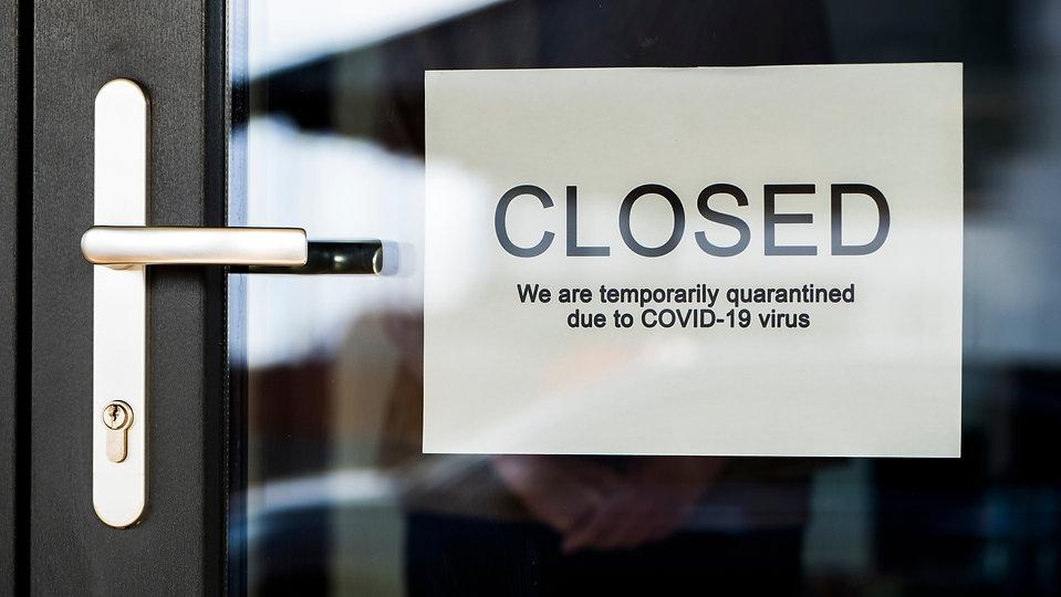 Stock_Store Closed COVID - shutterstock_