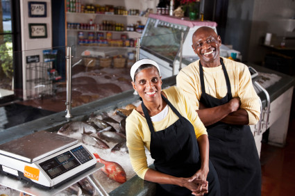 Black-owned fish market