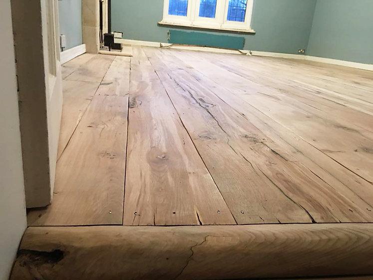 reclaimed wood flooring medieval floorboards eco friendly builder gloucestershire uk