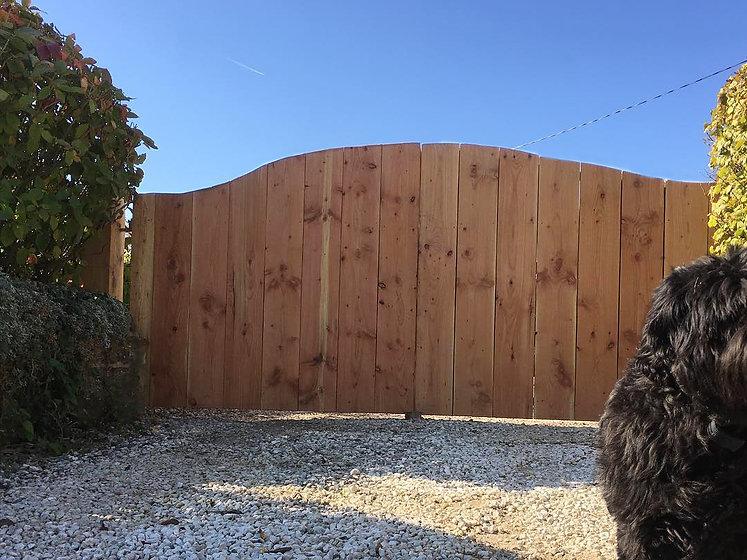 eco wood gates carpenter builder rustic design gloucestershire uk