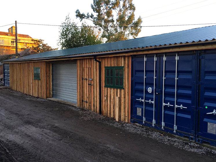 wooden garage conversion cabin home improvement eco friendly builders uk