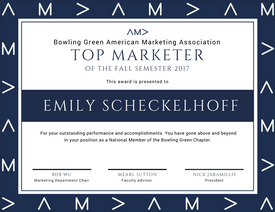 AMA Top Marketer Award