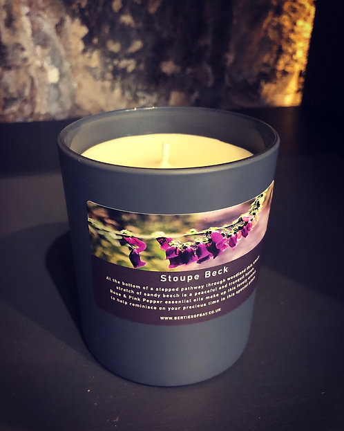 30cl Candle - Stoupe Beck