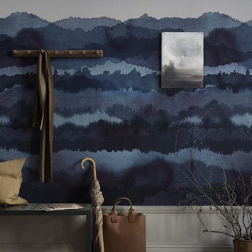 Midnatt dark blue