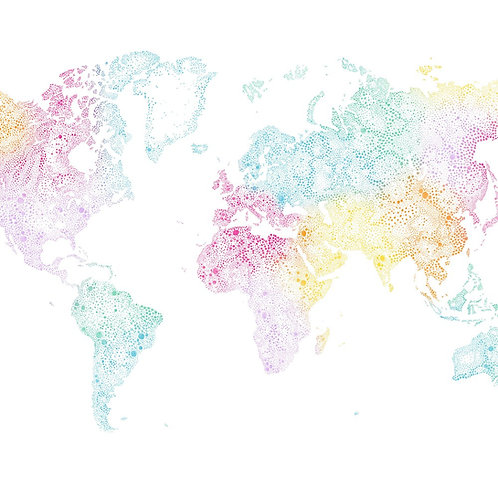 World map multi