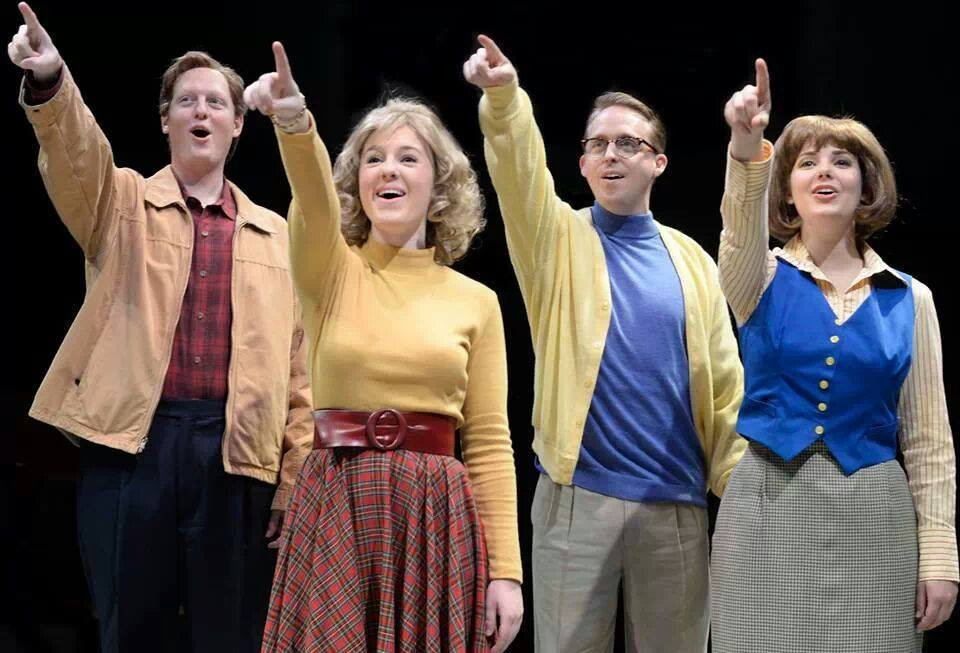 MERRILY WE ROLL ALONG at Mary Moody Northen Theatre, Austin