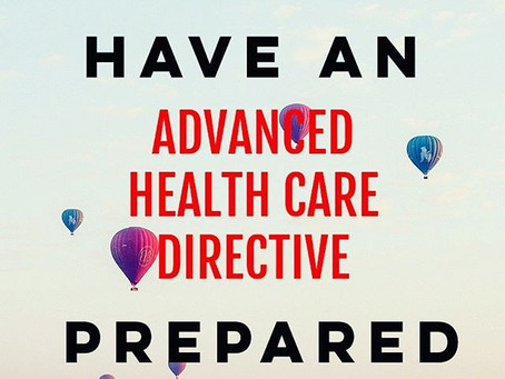 Advanced Healthcare Directive/Power of Attorney for Healthcare Decisions
