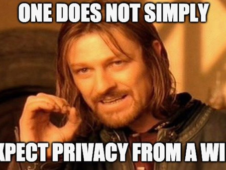 Wills are not private!