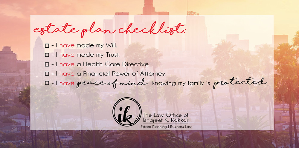 chatsworth, estate plan, estate planning, trusts and wills, power of attorney, probate