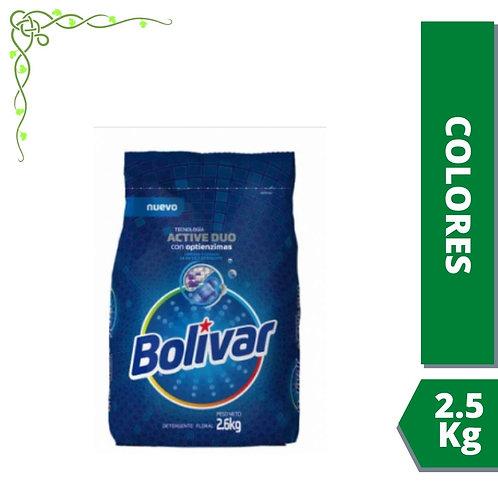 Detergente Bolivar colores vivos