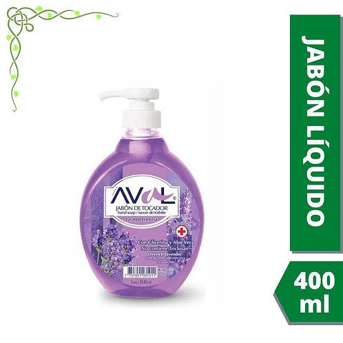 Jabón líquido Aval antibacterial