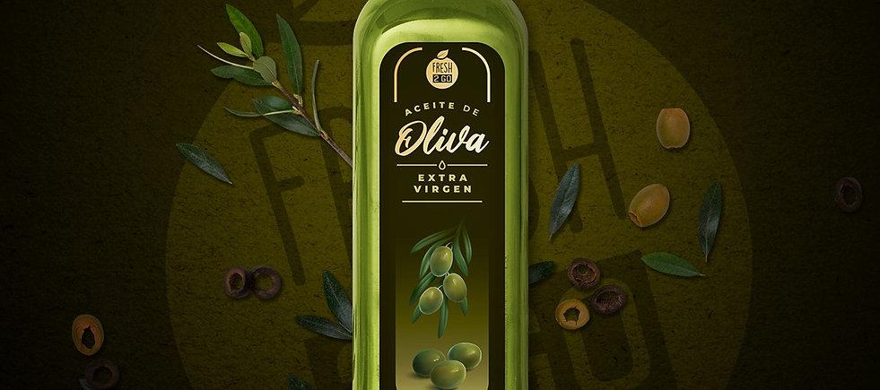 Aceite de oliva extra virgen Fresh2go (500 ml)