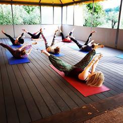 Open air yoga _chez.raz - getting the bo