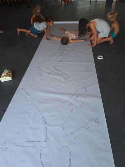 Drawing our silhouette