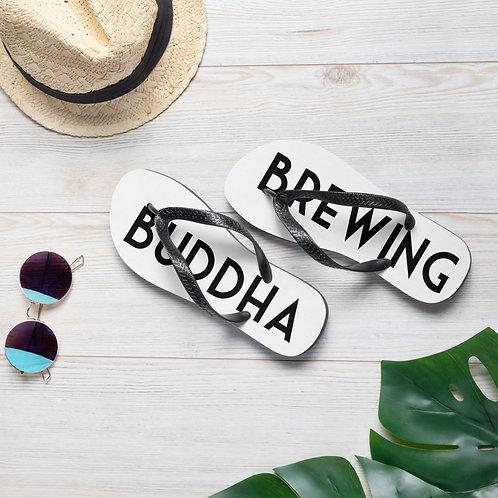 Brewing Buddha Flip-Flops