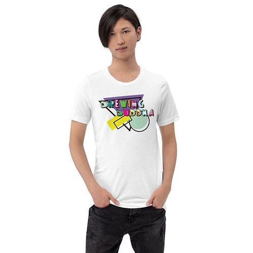 Retro Brewing Buddha Short-Sleeve Unisex T-Shirt