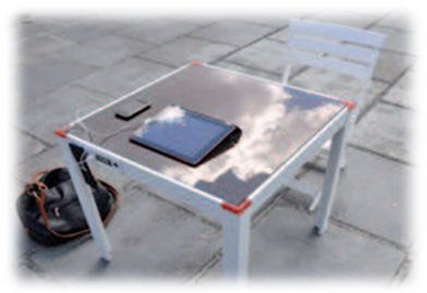 Solar Camping Table UAE