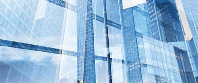 BidCraft helps a wide range of cpmpanies win work. Picture of glass buildings.