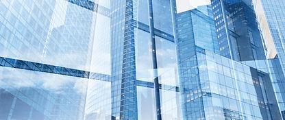 Glazen gebouwen