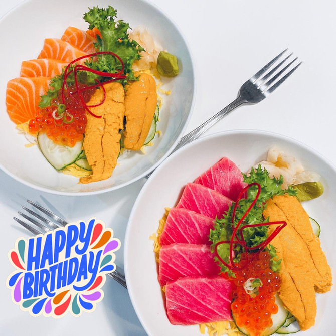 Happy 2nd Birthday Mi Sushi!!