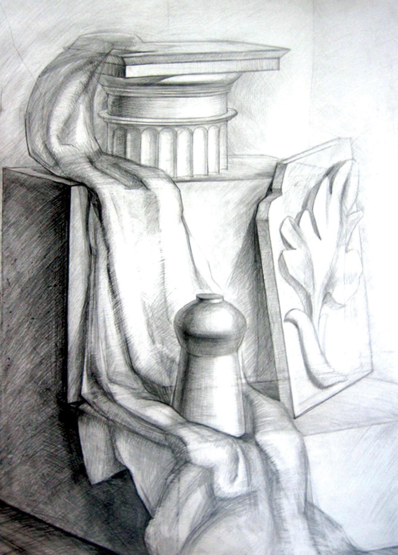 Натюрморт с капителью